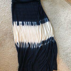 Boho Tie Dye Skirt